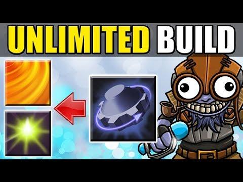 Unlimited Push + Unlimited Stun [Tinker Rearm Combo] Dota 2 Ability Draft