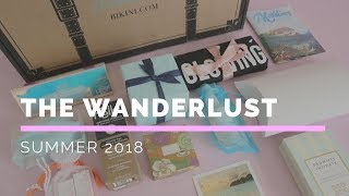 The Wanderlust Subscription Box Unboxing Summer 2018