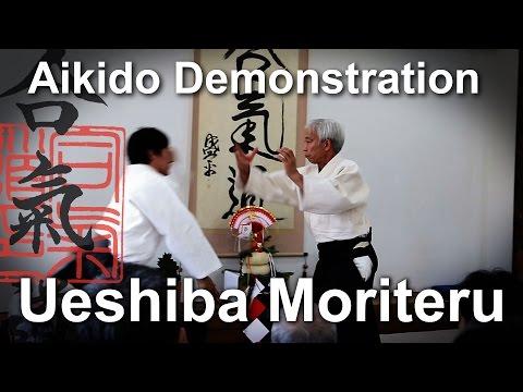 Aikido - Moriteru Ueshiba demonstration Kagamibiraki 2015