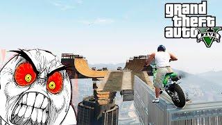 GTA 5 Mods : Bike Challenge Map 2 - ОЧЕНЬ Крутая карта!