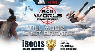 Rules of Survival: iRoots