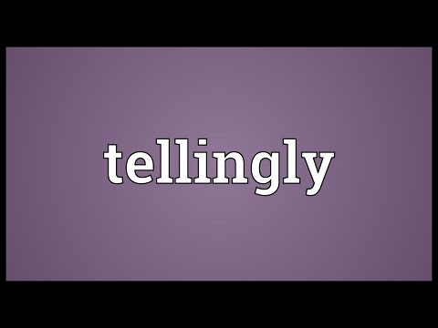 Header of tellingly
