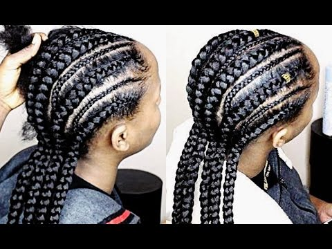 HOW TO DO CORNROWS (FOR BEGINNERS )