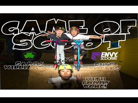 Sammy Williamson VS Rhys Rogers | Game Of SCOOT ft Tommy Dang