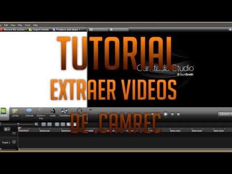 Tutorial [Camtasia Studio] Extraer videos de .camrec