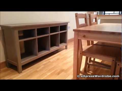 IKEA Hemnes Furniture (Bed. Wardrobe. Console Table. Shelving Unit. TV Bench) Design