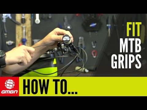 How To Change Your Grips   MTB Maintenance Tips