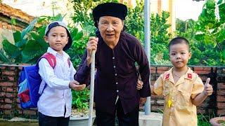 Trò Chơi Cảnh Sát Giúp Đỡ Cụ Già 100 Tuổi Qua Đường - Bé Nhím TV - Đồ Chơi Trẻ Em