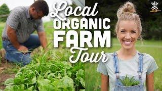 Local Organic Farm Tour | Midwest Plant-based Vegan Lifestyle