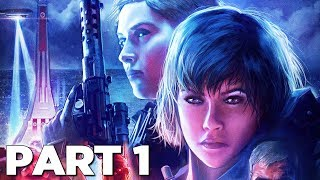 WOLFENSTEIN YOUNGBLOOD Walkthrough Gameplay Part 1 - INTRO (FULL GAME)