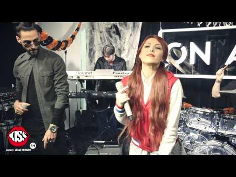 Glance Feat. Elena & Naguale - In Bucati (live  Kiss Fm) video