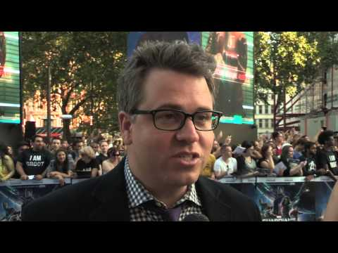 Guardians of the Galaxy - European Premiere interviews with Jeremy Latcham.