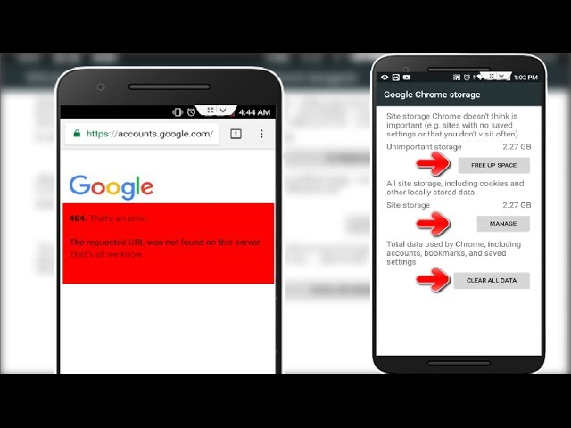 How to Fix 404 That an Error in Google Chrome in Android thumbnail