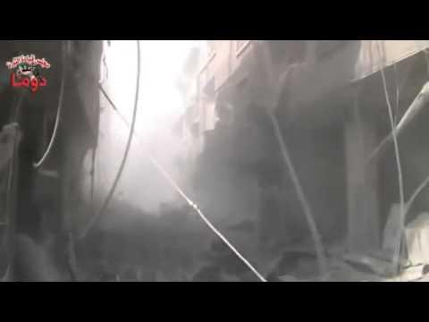Syria | Douma | A New Raid Air On The City | November05, 2012 video