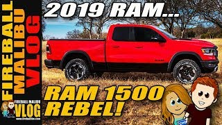 2019 Ram 1500 Rebel up Close! – Fireball Malibu Vlog 776