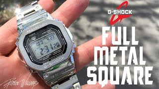 G-Shock GMW-B5000 - Full Metal Square - Awesome!