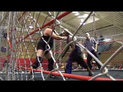 Phoenix Pro Wrestling: Black Lightning vs. Shane Malice (Steel Cage Match)