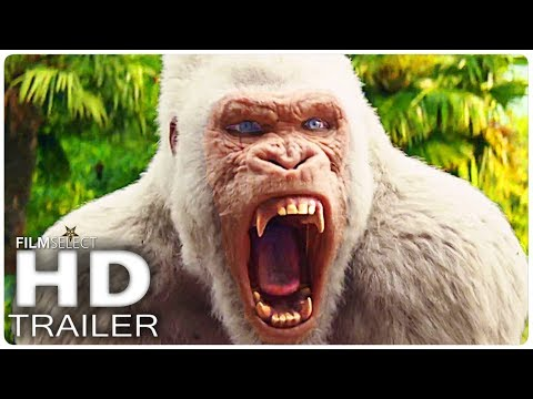 RAMPAGE Trailer 2 Italiano (2018)