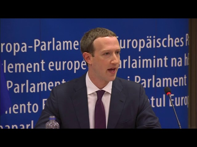 Zuckerberg Apologizes to EU for Facebook Lapses