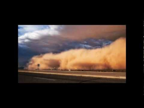 MASSIVE APOCALYPTIC DUST STORM ENGULFS DOWNTOWN PHOENIX, ARIZONA  (JULY 24, 2012)