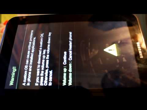 How to root the Samsung Galaxy Tab 2 7.0