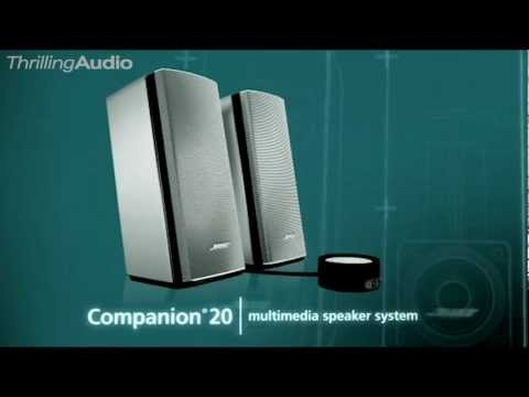 NEW Bose Companion 20 Multimedia Speaker System Features