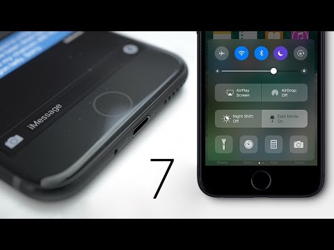 Space Black iPhone 7 & New Home Button Leak!