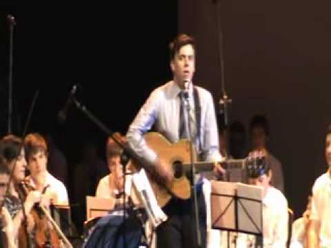Belvedere College Graduation 23/5/2010. O'Reilly Theatre, Dublin. Song performed by: Ross Gaynor-Guitar/vox Dan McAleese-Lead Guitar Liam Maher-Bass Conor Mc...