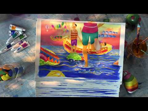 Creative advertisement of MP Tourism Jal Mahotsav 2017