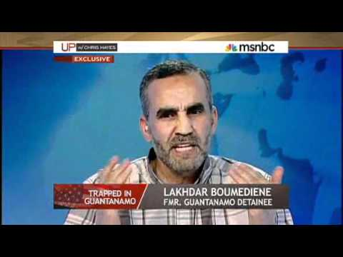 chris hayes interviews former Gitmo detainee Lakhdar Boumediene