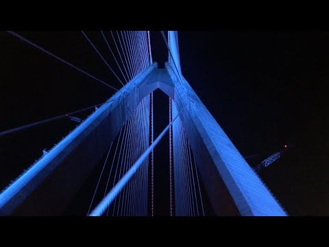 [4K] 3.Köprü(Yavuz Sultan Selim Köprüsü) Gece Geçişi | Passing Throught the Istanbul's 3rd Bridge