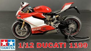 Building the Tamiya 1/12 Ducati 1199 Panigale S  motorcycle