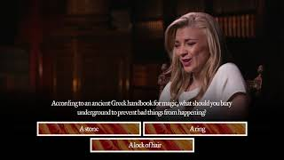 Natalie Dormer takes The History of Magic Quiz