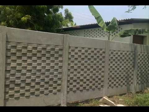 Precast compound wall youtube for Precast concrete basement walls cost