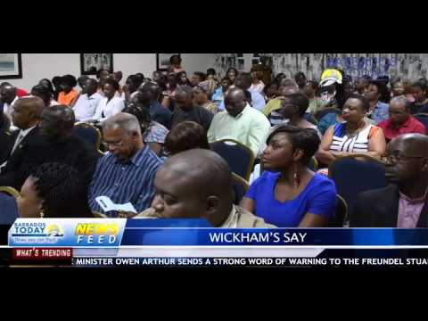 BARBADOS TODAY EVENING UPDATE APRIL5, 2016