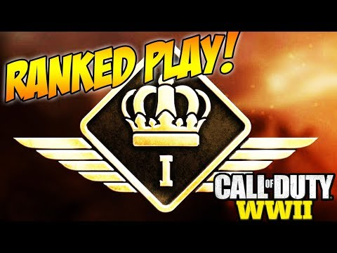 Call of Duty WW2 RANKED PLAY GRAND MASTER INFO! Place top 100 gives you Pro Status Gear