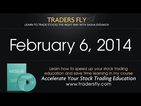 Stock Market Daily Recap: February 6, 2014