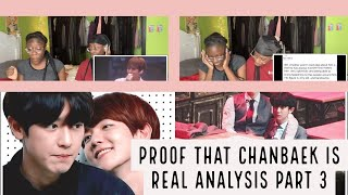 Proofs that CHANBAEK is real - 찬백 Analysis 2018 (PART 3) (REACTION)
