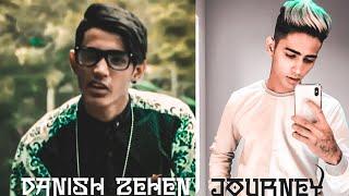 DANISH ZEHEN JOURNEY / RAPPER TO SOCIAL MEDIA STAR / YOUTUBE JOURNEY