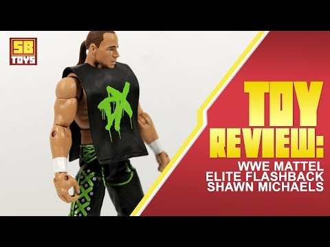 SB Toys: Mattel WWE Elite Flashback DX Shawn Michaels Action Figure Review (Walgreens Exclusive)