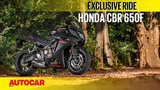 Honda CBR 650F | First Ride | Autocar India