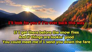 Four Strong Winds - Neil Young (Karaoke) HD