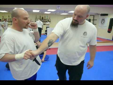 Knife Self Defense Techniques - taught at Kapap Canada Image 1