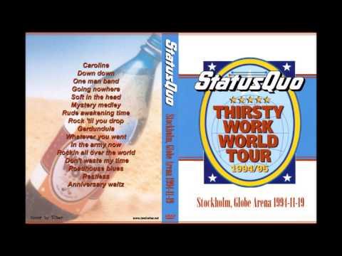 Status Quo - Stockholm 1994 (Radio Broadcast)