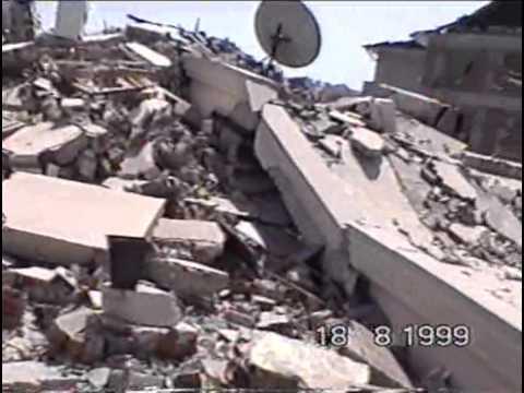 17 aĞustos depremİ adapazari caddelerİ.avi youtube
