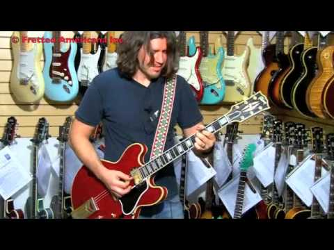 6 million! RANDY RHOADS ON A 355?? Only PHIL X !1961 Gibson ES-355 TD mono 01111
