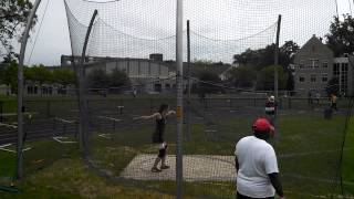 FSL championships Laura discus