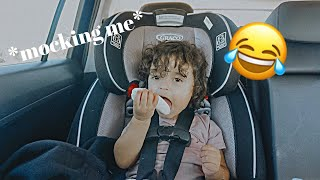 I HAVE THE FUNNIEST KID IN THE WORLD | Long Awaited Vlog!!