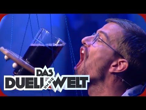 Download CHINA: Wer kann mehr trinken? - Zum wackeligen Krug | Studiospiel | Duell um die Welt | ProSieben Mp4 baru