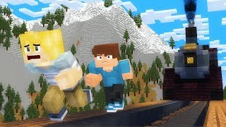 Minecraft Train! Stand by Me Scene Animation